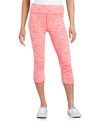 Bench Ruched Capri Leggings Fiery Coral