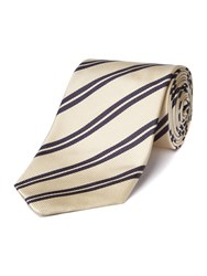 Chester Barrie Silk Tie Navy