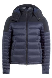 Burberry Brit Quilted Parka Blue