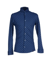 Drumohr Shirts Dark Blue