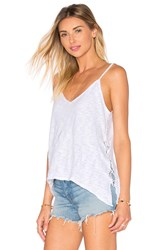 Lamade Naomi Lace Up Tank White