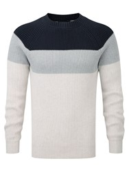 Henri Lloyd Crew Neck Sweater White