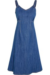 Adam By Adam Lippes Denim Dress Blue