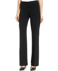 Nine West Straight Leg Dress Pants Black