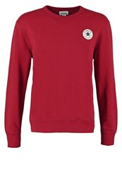 Converse Sweatshirt Red Block