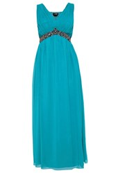 Little Mistress Curvy Occasion Wear Turquoise
