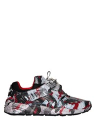 Puma Select Trapstar Disc Blaze Leather Sneakers