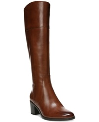 Naturalizer Harbor Tall Wide Calf Boots Women's Shoes Banana Bread