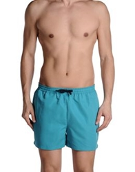 Suit Swimming Trunks Turquoise