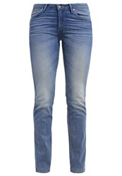 Wrangler Sara Slim Fit Jeans Moonflower Light Blue