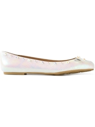 Marc By Marc Jacobs 'Punk Mouse' Ballerinas White