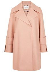 Schumacher Light Pink Wool Blend Coat