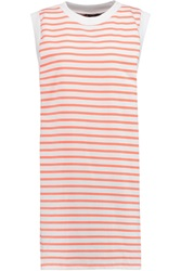 Petit Bateau Striped Stretch Cotton Mini Dress