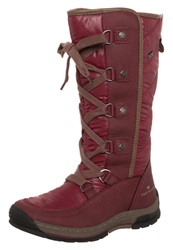 Tom Tailor Winter Boots Red