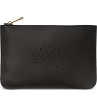 Mulberry Small Blossom Pouch Black
