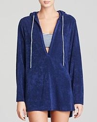 Splendid Terry Hooded Swim Cover Up Tunic