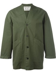 Henrik Vibskov 'Chock' Jacket Green