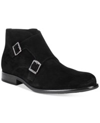 Bar Iii Men's Dante Double Monk Chukka Suede Boots Only At Macy's Men's Shoes Black