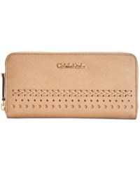 Calvin Klein Novelty Braided Wallet Cashmere Braid