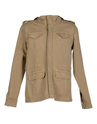 Italia Independent Coats And Jackets Jackets Men Beige