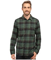 Mountain Hardwear Stretchstone Long Sleeve Shirt Forest Men's Long Sleeve Button Up Green