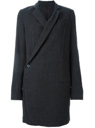 A.F.Vandevorst 'Dinner' Wrap Coat Grey