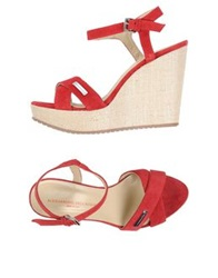 Alessandro Dell'acqua Sandals Red
