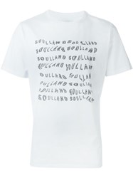 Soulland 'Watkins' T Shirt White