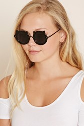 Forever 21 Round Pointed Sunglasses