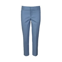 Part Two Smart Stretchy 7 8 Length Chinos. Blue