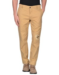 Franklin And Marshall Trousers Casual Trousers Men Beige
