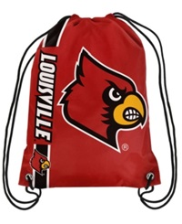 Forever Collectibles Louisville Cardinals Big Logo Drawstring Bag Red