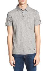 Boss Orange Men's 'Phylo' Heathered Jersey Polo