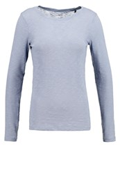 Marc O'polo Long Sleeved Top Steel Blue