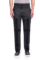 Givenchy Stripe Jogger Pants Charcoal