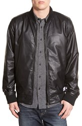Men's Ezekiel 'Fade Away' Coated Knit Bomber Jacket