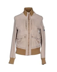 Piquadro Jackets Light Grey
