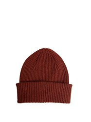 Paul Smith Cashmere Beanie Hat Red