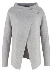 Anna Field Cardigan Grey Melange Mottled Grey