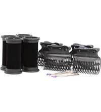 Diva Session 25Mm Rollers Clips Pins Pack