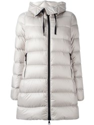 Moncler 'Glaphira' Coat Nude And Neutrals