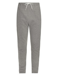 Tomas Maier Washed Cotton Drawstring Track Pants