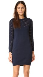 Ryder Georgie Knit Dress Navy