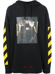 Off White 'Narciso' Hoodie Black