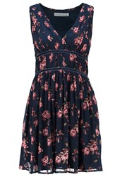 Abercrombie And Fitch Summer Dress Navy Dark Blue