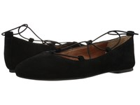 Lucky Brand Aviee Black Oil Suede Women's Shoes