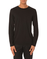 Menlook Label Luc Black T Shirt