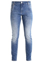 Opus Lotty Light Relaxed Fit Jeans Mid Blue