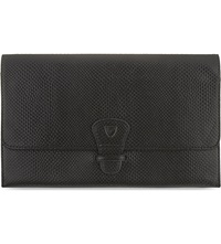 Aspinal Of London Classic Leather Travel Wallet Black