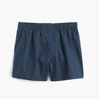 J.Crew Floral Print Boxers Midnight Blue
